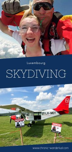 You should give skydiving a try! And why not do so in Luxembourg? Check out my experience and tips from skydiving in Luxembourg talk about adventure travel! Cheap Places To Visit, Beautiful Places To Visit, Holland, Tulum Beach, Travel Through Europe, Whitewater Rafting, Amazing Destinations, Travel Destinations, European Destination
