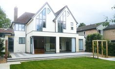 two storey extension built under permitted development