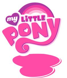 my little pony logo clip art | My Little Pony EMPTY Logo (Base) by Ov3rHell3XoduZ