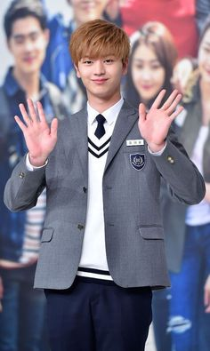 "Boy group BTOB's member Yook Sungjae began filming for the MBC entertainment program ""We Got Married. Yook Sungjae Cute, Sungjae Btob, Asian Actors, Korean Actors, Korean Idols, Korean Dramas, Who Are You School 2015, Song Jae Rim, Korean Drama Quotes"