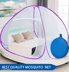 Checkout this latest Mosquito Net_1000 Product Name: *Fancy Cotton Polyester Foldable Double Bed Mosquito Net* Material: Polyester Size: (L X W X H) - 78 x 78 x 60 Inch Description: It Has 1 Piece Of Mosquito Net Country of Origin: India Easy Returns Available In Case Of Any Issue   Catalog Rating: ★4.1 (3418)  Catalog Name: Fancy Cotton Polyester Foldable Double Bed Mosquito Nets Vol 6 CatalogID_672055 C134-SC1629 Code: 824-4634911-0741