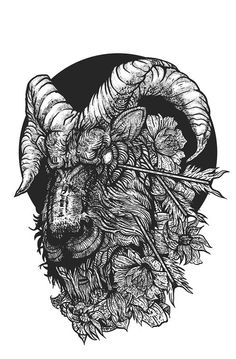 """""""Nikita Kaun is self taught artist, based out of Saint-Petersburg Russia that has done a variety of macabre renderings for various apparel and product lines, in addition to her own personal illustrations depicting the darker side of doom."""" Juxtapoz Magazine - The Darkness of Nikita Kaun"""