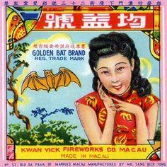 Golden Bat Brand Golden Girl Firecracker