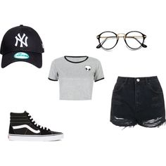 wow by marielalexx on Polyvore featuring WithChic, Topshop and Vans