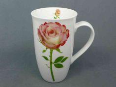 Der Wonnemonat Mai steht vor der Tür, die Frühlingsgefühle sind erwacht, allerorten wird geheiratet und geturtelt... Also, was auch immer Sie sagen möchten - sagen Sie es mit Rosen! Zum Beispiel auf dem großen Becher für viel leckeren Tee oder Kaffee.