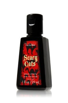 Amazon.com: Bath and Body Works Anti-bacterial Halloween Pocketbac Sanitizing Hand Gel Black Cherry: Beauty