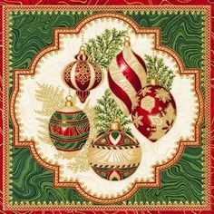 - Holiday Flourish 11 by Robert Kaufman. - The price is for one PANEL of fabric that is inches wide. Robert Kaufman, Christmas Fabric, Poinsettia, Floral Flowers, Flourish, Hibiscus, Metallic, Quilts, Holiday Decor