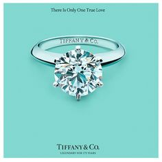 Tiffanys! This WILL be my wedding ring. Even if I have to pay for it myself.