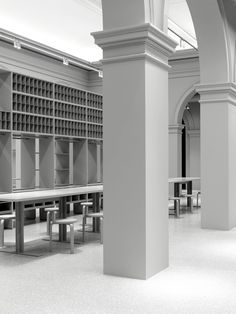 Arket is set to open its first ever store in Copenhagen, which features all-grey interiors and fixtures based on historical archives.