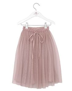 Noa Noa mini basic tulle skirt misty rose Girls Wardrobe, Little Miss, My Girl, Tulle, Ballet Skirt, Skirts, How To Wear, Outfits, Collection