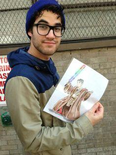 Love Darren Criss   via Facebook on We Heart It