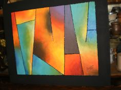 cuadro con triangulos