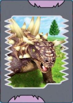Image - Euoplocephalus card.jpg - Dinosaur King - Wikia