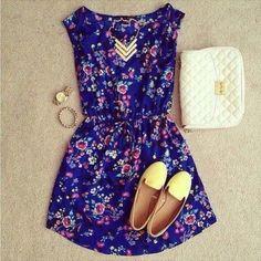 Vestidos casuales 2014 - Chicas Tips