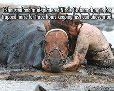 Awwwwwwwww please repin if you have a horse and would do the same thing!!!!
