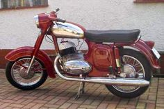 Jawa 350 typ 354.06 Triumph Motorcycles, Vintage Motorcycles, Cars And Motorcycles, Jawa 350, Vespa Vintage, Pikachu Art, Ducati, Chopper, Motocross
