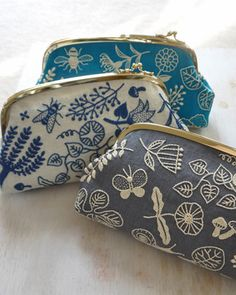 embroidered clutches