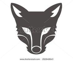 stock-vector-fox-head-silhouette-202848643.jpg (450×376)