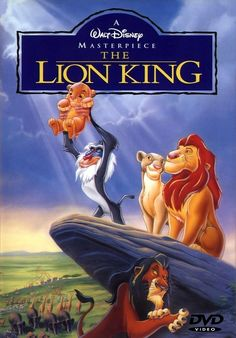 1. Favorite Movie -The Lion King  I will never get tired of this movie! If it's on, I will stop whatever I'm doing, no matter how important, just to sit and watch it.