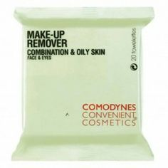 Comodynes Makeup Remover Wipes for Combination Skin - 20 CT