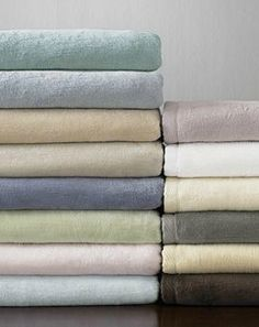 Warm up this winter under the velvety softness of the SFERRA St. Moritz Plush Blanket; available in twelve stunning colors.