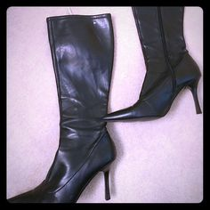 * Reduced* Tommy Hilfiger boots Very sexy and comfy. 4 inch heels Tommy Hilfiger Shoes Heeled Boots