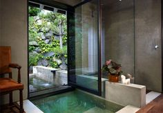 cast concrete bath tub ideas