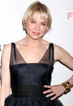 Renee Zellweger Short Straight Cut - Short Hairstyles Lookbook - StyleBistro