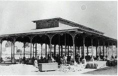Lonja de 1901 que estuvo en la plaza de San Agustin, cuando fue trasladada a San Basilio ahora Puertas de Castilla.Semana Santa de Murcia - LA MURCIA QUE SE NOS FUE V - Semana Santa
