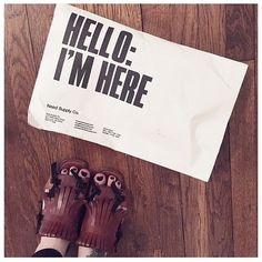 #HelloImHere from @lane__holloway