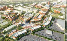University Park Alliance Master Plan - Akron, Ohio