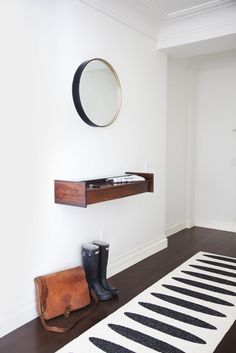 Ditch the Clutter: 30 Minimalist Entryways