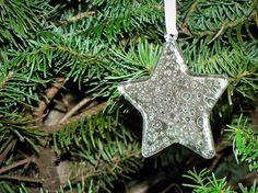 Mercury Glass Star Ornaments