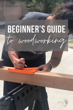 Get all my beginner woodworking tips, tutorials and project ideas in one place - from what tools you need to easy projects to get started! #woodworking #AnikasDIYLife Beginner Woodworking Projects, Woodworking Tips, Furniture Plans, Diy Furniture, Easy Projects, Project Ideas, Kreg Jig, Wood Working For Beginners, I Can Do It