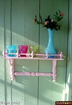 Little pink shelf
