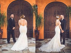 Gorgeous Wedding Dress: Parvani Vida Bridal & Formal | Photo: Ama Photography | Venue: Agave Estates