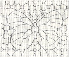 Free Cross Stitch Butterfly Pattern and Instructions