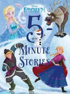 JJ FAVORITE CHARACTERS FROZEN. One dozen stories featuring beloved characters from Frozen are designed to be read in about five minutes each and include the tales of a mysterious mountain monster, a royal sleepover and a troll babysitting venture.