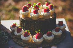 Mis Dulces 26 / cupcakes de con fresas