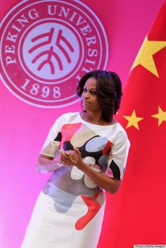 First Lady Michelle Obama - China