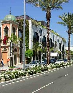 Rodeo Drive, Beverly Hills, Los Angeles, California