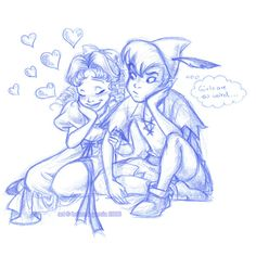 Peter and Wendy - Classic Disney Fan Art (1425044) - Fanpop via Polyvore