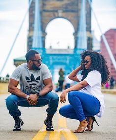 Blacklove couples in love, black couples goals, couple goals, beautiful . Street Style Photography, Couple Photography, Black Love Couples, Cute Couples, Photo Couple, Couple Shoot, Beautiful Couple, Black Is Beautiful, Couple Noir