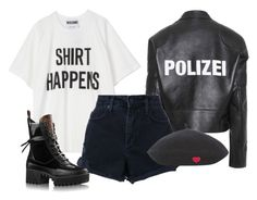 """""""Untitled #1638"""" by artiola-fejza ❤ liked on Polyvore featuring Vetements and Nobody Denim"""