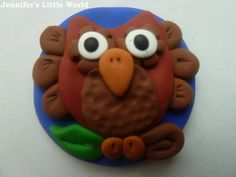 Jennifer's Little World blog - Parenting, craft and travel: PinAddicts Challenge - Fimo Owl Polymer Clay Owl, Owl Crafts, Beautiful Patterns, Wonderful Things, Sewing Crafts, Challenges, Colours, Crafty, Pixies