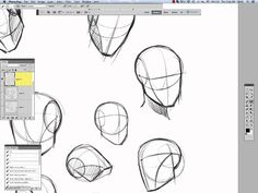 :) how to practice Andrew Loomis - Drawing the Head How to draw a basic head construction 01 video by REIQ YouTube channel