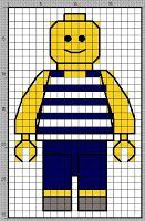 lego knit - Google-søk Cross Stitch For Kids, Mini Cross Stitch, Cross Stitch Charts, Cross Stitch Patterns, Quilt Patterns, Quilt Stitching, Cross Stitching, Cross Stitch Embroidery, Legos