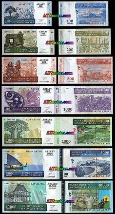 madagascar cuency | ... - Madagascar paper money catalog and Madagascar currency history