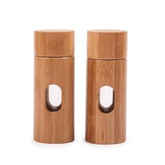 Fab.com | Core Bamboo: Contemporary Salt+Pepper Shakers, at 58% off!