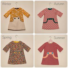 Louisa Dress for every seasonl Sewing Kids Clothes, Sewing For Kids, Baby Sewing, Little Girl Outfits, Little Girl Dresses, Kids Outfits, My Baby Girl, Fashion Kids, Kids Wear